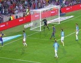 """Tranh cãi gay gắt xung quanh """"bàn thắng ma"""" của Barcelona vào lưới Malaga"""