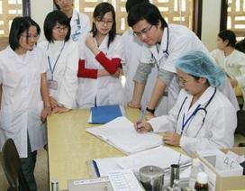 Năm 2017, Đại học Y Hà Nội sử dụng 1 tổ hợp môn thi để xét tuyển