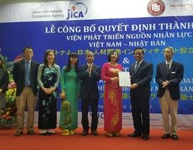 Đại học Ngoại thương thành lập Viện Phát triển nguồn nhân lực Việt Nam - Nhật Bản