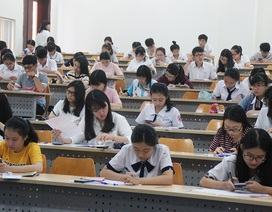 Trường đại học đầu tiên tổ chức thi tuyển