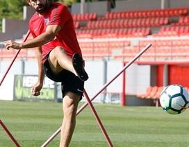 Diego Costa trở lại tập luyện cùng Atletico