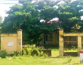Hàng trăm phòng học bị bỏ hoang