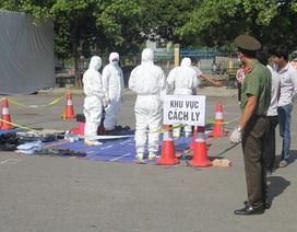 Diễn tập ứng phó sự cố bức xạ và hạt nhân