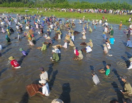 Hút hồn hình ảnh Lễ hội đánh cá Đồng Hoa