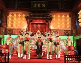 Đoàn nhạc Cung đình Huế vinh dự lần thứ 2 biểu diễn cho Nhật hoàng
