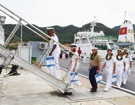 Cảng Quốc tế Cam Ranh chia tay Hải quân Mỹ, Nhật Bản