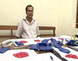 Bắt giữ đối tượng vận chuyển 5.800 viên ma túy tổng hợp
