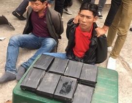 Khởi tố 2 đối tượng vận chuyển 15 bánh heroin giấu trong thân xe máy