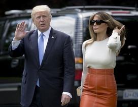 """Chuyến """"xuất ngoại"""" đầu tiên của Tổng thống Trump qua ảnh"""
