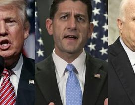 """Những nghị sĩ Cộng hòa có thể """"ngáng đường"""" ông Trump"""
