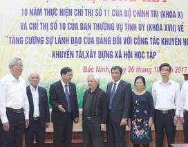 Bắc Ninh: Hơn 300.000 người tham gia Hội Khuyến học