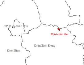 Động đất 3,9 độ richter ở Điện Biên
