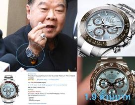 """Ảnh Phó Thủ tướng Thái Lan dùng hàng hiệu gây """"bão"""" cộng đồng mạng"""