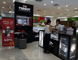 "Tissot giảm giá cực khủng trong ""Swiss Watch Week"""