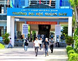ĐH Quảng Nam được đào tạo 800 chỉ tiêu trong ngân sách