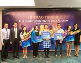 MobiFone tổ chức trao thưởng cho khách hàng trúng giải
