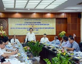 Bộ trưởng Phùng Xuân Nhạ: Tư duy hội nhập bắt đầu từ tiếp cận của công dân toàn cầu