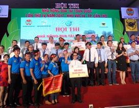 Cần Thơ, Tiền Giang chiến thắng tại cuộc thi Nhà nông đua tài