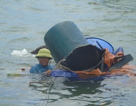 Bão biển và nước mắt ngư dân