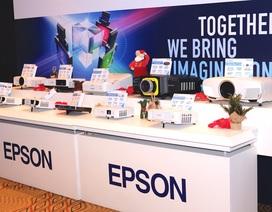 Epson tung loạt máy in phun mực hệ thống và máy chiếu tại Việt Nam