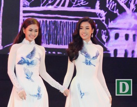 Người đẹp hoa hậu Việt Nam khoe sắc ở Đà thành