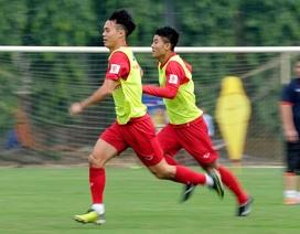 Đội tuyển Việt Nam luyện dứt điểm, quyết đánh bại Afghanistan