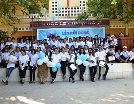 Khởi động dự án dạy miễn phí cho học sinh trong hè ở Lý Sơn