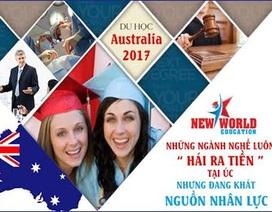 Xu hướng chọn các ngành học theo danh sách định cư cao tại Úc 2017
