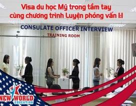 Visa du học Mỹ trong tầm tay cùng chương trình Luyện phỏng vấn Mỹ 1:1
