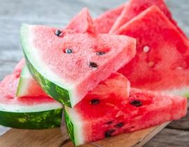 Tại sao không nên uống nhiều nước sau khi ăn dưa hấu