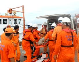 Điều động tàu cứu thuyền viên nghi bị đau ruột thừa