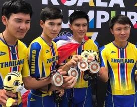 Báo Thái Lan tố cua-rơ người Malaysia đi đường tắt để giành HCV xe đạp