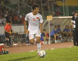 Đức Chinh thay Công Phượng ghi bàn cho U22 Việt Nam