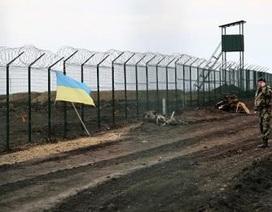 Dựng pháo đài sát biên giới Nga: Kiev dùng chiêu cũ