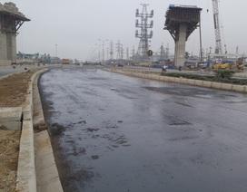 Vụ thảm nhựa đường giữa trời mưa: Bóc lên làm lại