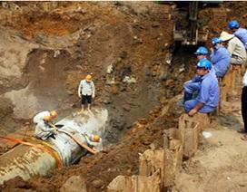 Khởi tố nguyên Phó Chủ tịch Hà Nội vụ vỡ đường ống nước Sông Đà