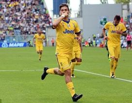 Dybala lập hat-trick, Juventus toàn thắng cả 4 trận ở Serie A