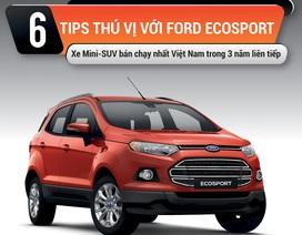"""6 """"tips"""" thú vị với Ford Ecosport"""