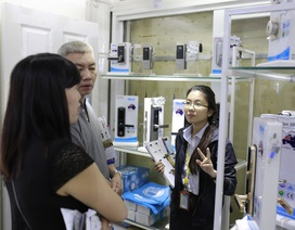 Các thương hiệu khóa điện tử chen chân vào Việt Nam