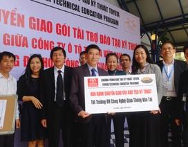 Toyota đầu tư phát triển nguồn nhân lực Việt Nam