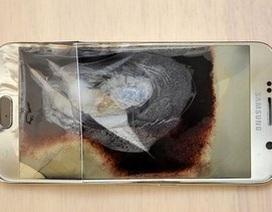 Galaxy S6 phát nổ ngay cạnh bé trai 6 tháng tuổi khi đang cắm sạc