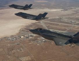 """Mỹ lần đầu đưa tiêm kích F-35 tới châu Âu để """"nắn gân"""" Nga"""
