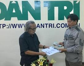 Trao hơn 46 triệu đồng đến gia đình anh Hồ Thanh Phương