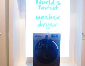 Máy giặt nhanh nhất thế giới: Giặt sấy trong 30 phút
