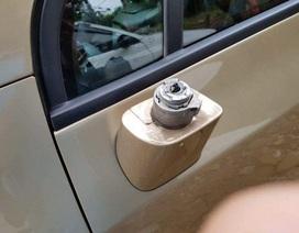 Bắt quả tang đối tượng bẻ trộm hàng loạt kính xe ô tô