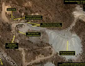 Mỹ phát hiện diễn biến mới tại khu thử hạt nhân của Triều Tiên
