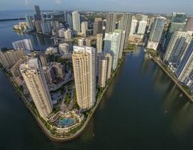 """Nhiều thành phố của Mỹ trước nguy cơ bị nước biển """"nhấn chìm"""""""