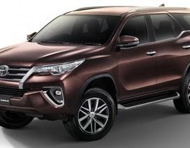 Toyota Fortuner được nâng cấp, thêm bản 2.4V 4WD