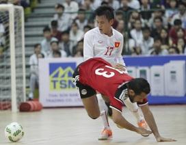 Đội tuyển futsal Việt Nam nhiều cơ hội vào chung kết giải Đông Nam Á 2017