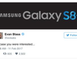 Sẽ có phiên bản Samsung Galaxy S8 Plus ra mắt ngày 29/3?